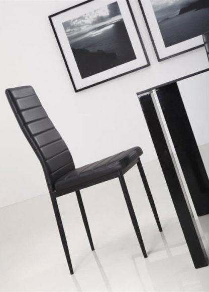 eetkamerstoel zwart