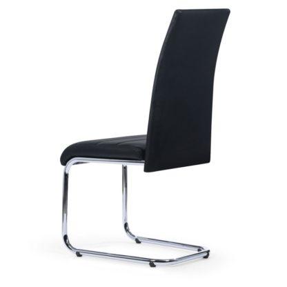 Moderne zwarte stoelen redealer