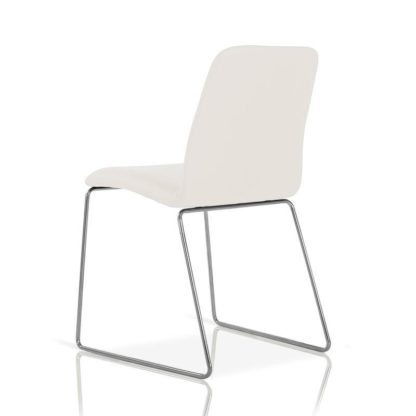 modrest elegante witte stoel redealer