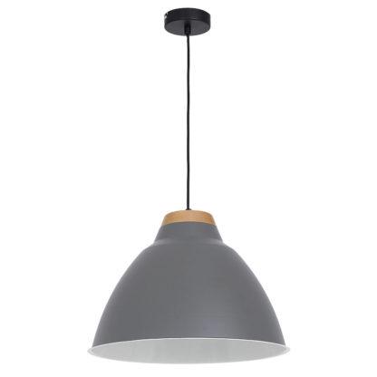 lumixes skal plafondlamp grijs redealer