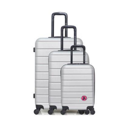 kofferset 3 delig redealer grijs