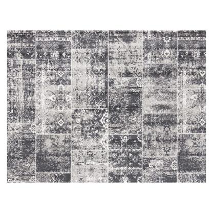 vloerkleed grijs patchworj vintage grijs redealer
