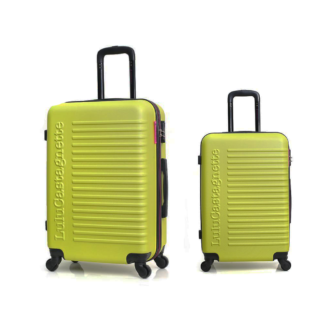 2 delig kofferset groen