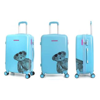 lulu castagnette koffer blauw redealer