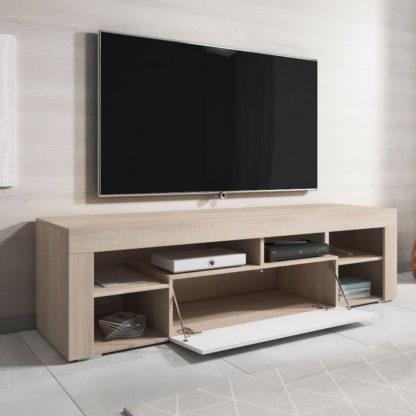 tv meubel eik wit redealer
