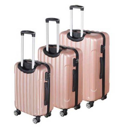rose goud kofferset 3 stuks redealer