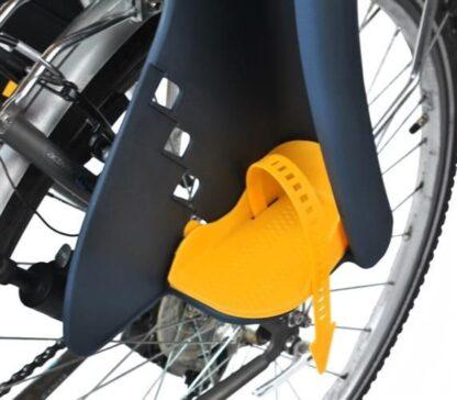 fietsstoeltje redealer grijs geel