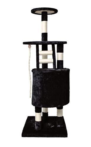 krabpaal kat zwart redealer 118cm