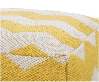 poef zig zag geel redealer