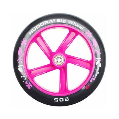 hudora roze zilver step redealer