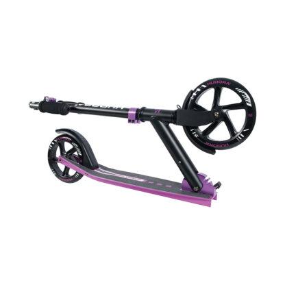 hudora - zwart paars step redealer