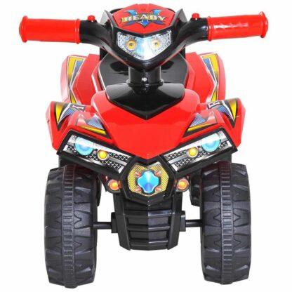 homcom speelgoedquad rood redealer