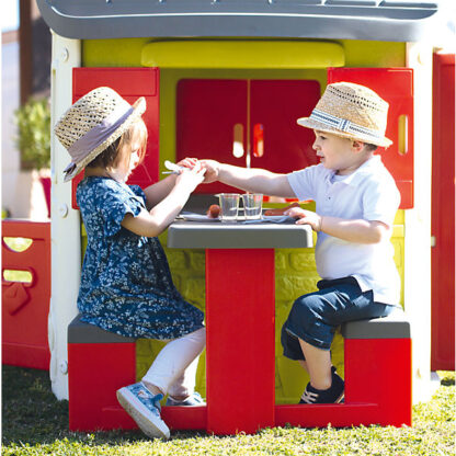 picknicktafel smoby voor neo jura speelhuis redealer