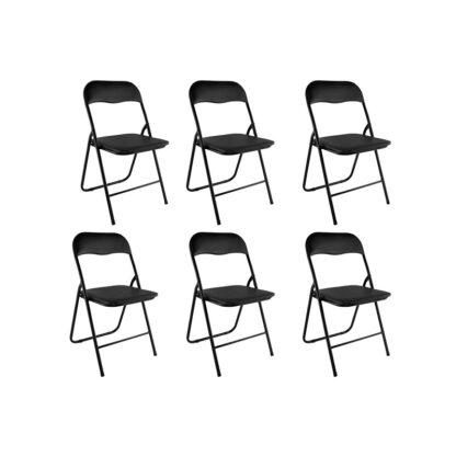 set van 6 klapstoelen redealer