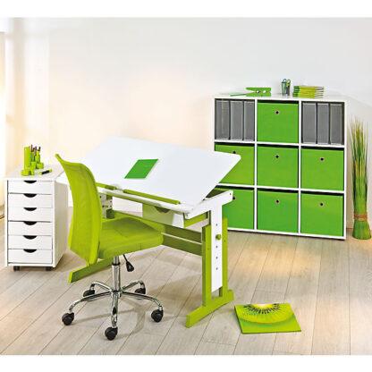 piji bureau groen wit redealer