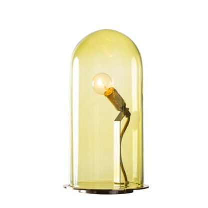 ebb & flow speak up gloden brass lamp