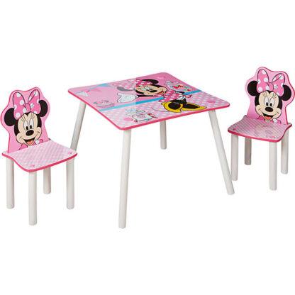 minnie mouse tafel en stoelen kind redealer