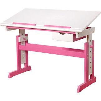 bureau wit roze redealer piji kinderbureau