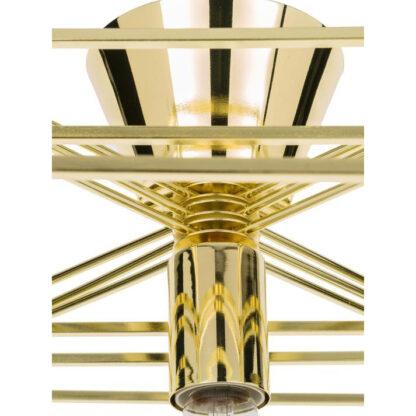 globen lightning cube goud redealer plafondlamp