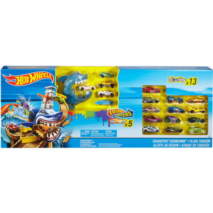hot wheels shark attack racebaan redealer