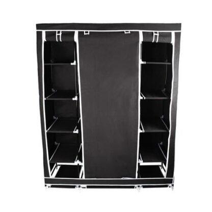 kledingkast opvouwbaar XXL zwart redealer
