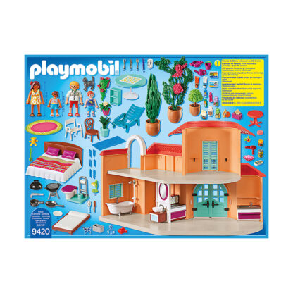 playmobil 9420 vakantiehuis