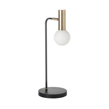 Tafellamp wilson zwart metaal redealer