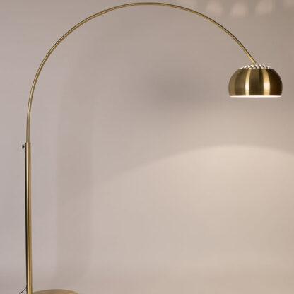 Zuiver bow vloerlamp goud redealer
