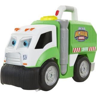 Dusty vuilnisauto redealer