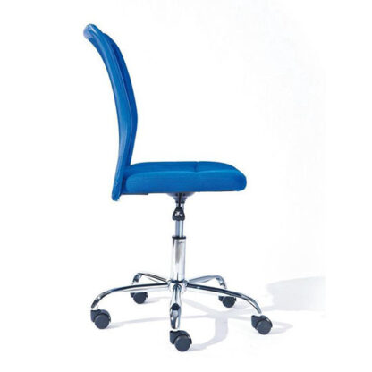 interlink sas bonnie blauw bureaustoel