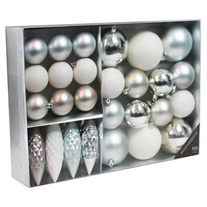 Kerstversiering kerstballen 31 stuks redealer