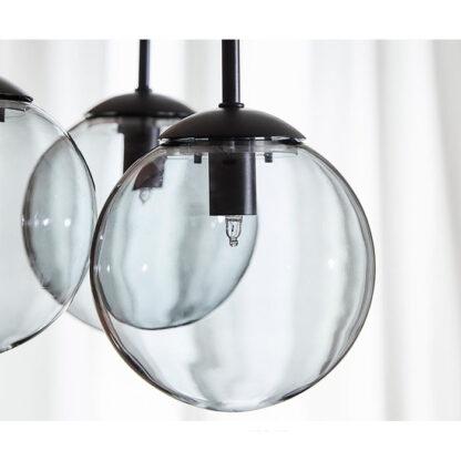 hanglamp drie glazen bollen edie redealer