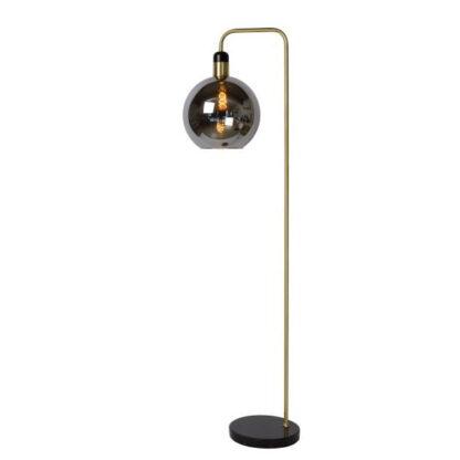 lucide julius redealer vloerlamp goud