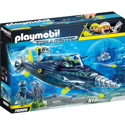 Playmobil topagents team shark redealer