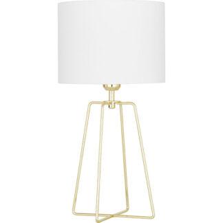 Tafellamp goud met wit redealer