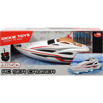dickie toys bestuurbare boot redealer