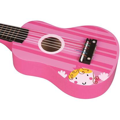 Lelin gitaar roze redealer