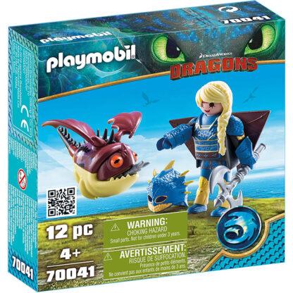 playmobil astrid draken 70041 redealer