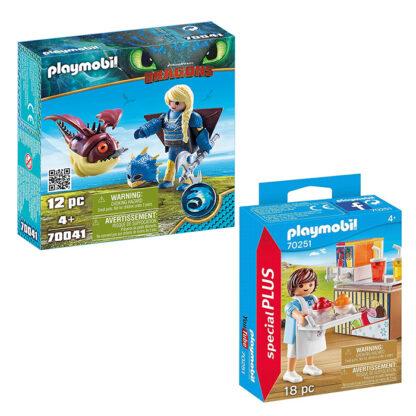 set van 2 playmobil verpakkingen redealer