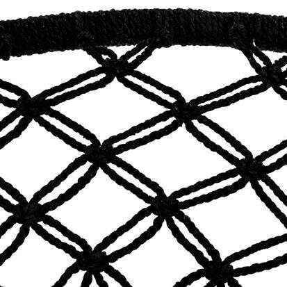 hangstoel binnen en buiten redealer zwart