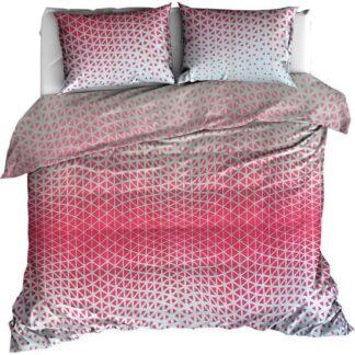 dekbedovertrek roze driehoeken redealer