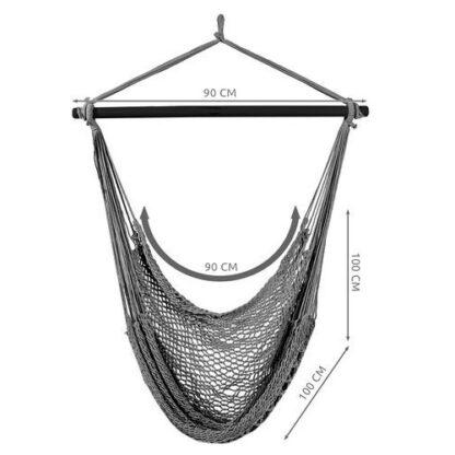 hangstoel brede zitting redealer braziliaanse stijl