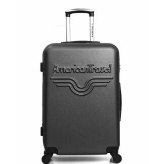 amaericcan travel koffer groot zwart redealer
