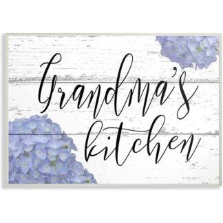 grandma's kitchen muurdecoratie
