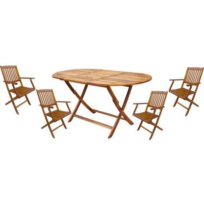 tafel en stoelen redealer