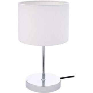 umi tafellamp chrome wit redealer