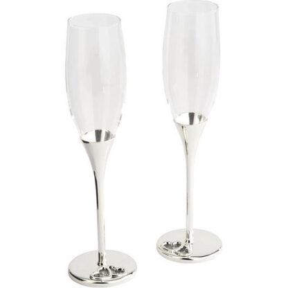 zilverstad champagneglazen set redealer